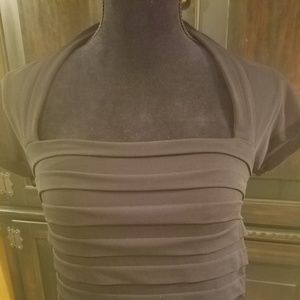 Cap sleeve cocktail dress
